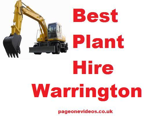 Plant Hire Warrington